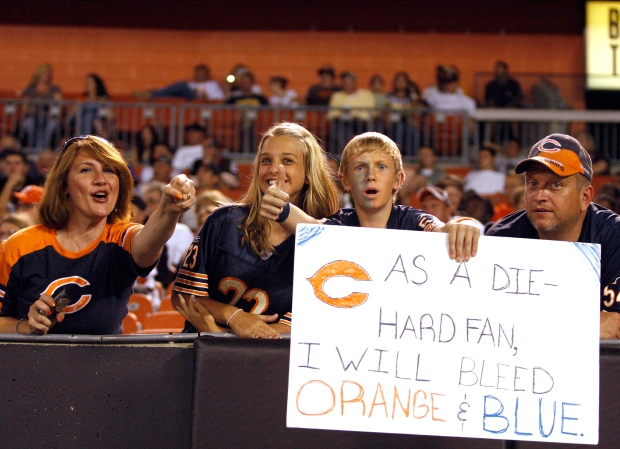 PHOTOS: Bears Lose to Browns