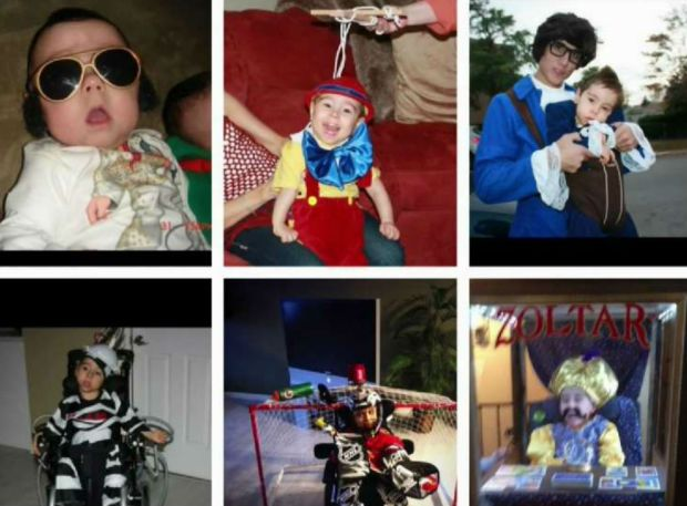 See 9 Years of Epic Halloween Costumes for Boy With Special Needs