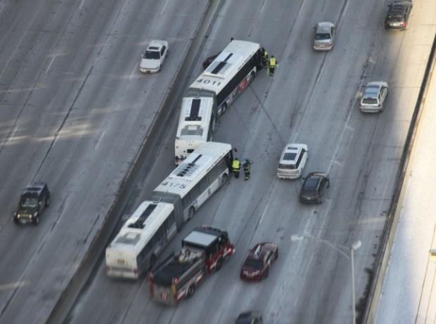 Lake Shore Drive Bus Accident