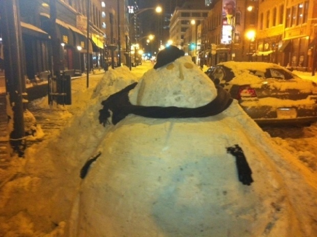Scenes From The Chicago Snowpocalypse