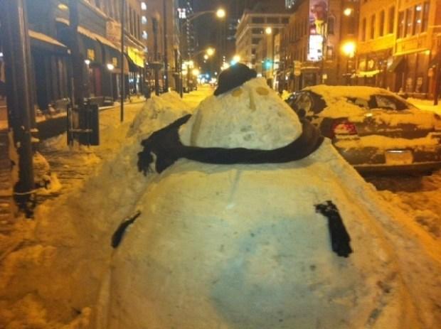 Scenes From The Chicago Snowpocalypse