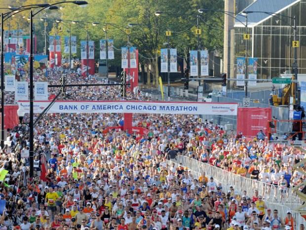 Chicago Marathon 2008