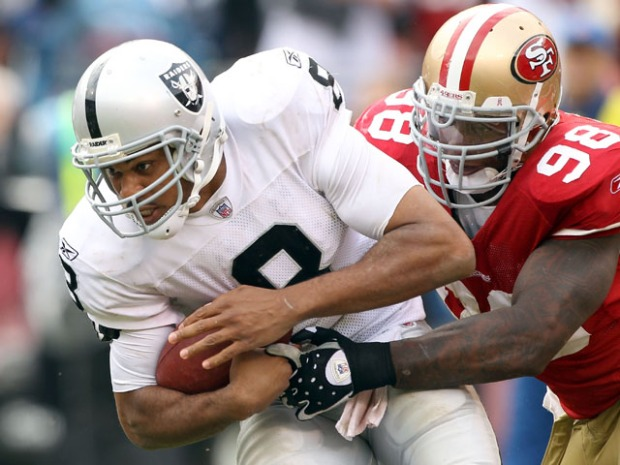 In Pictures: 49ers vs. Raiders