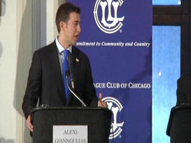 [CHI] Giannoulias, Hoffman Spar at Debate