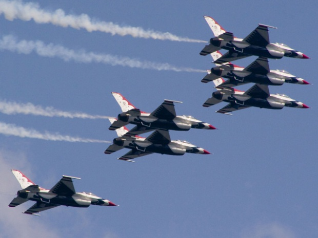 PHOTOS: Air & Water Show Review