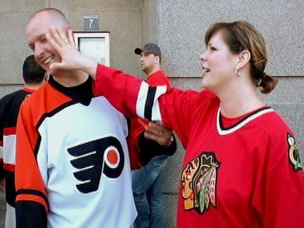 [CHI] Blackhawks Fans Livin' Large at Game 1