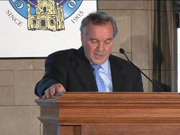 """[CHI] Daley Calls Decision to Stop Tree Planting """"Tough"""""""