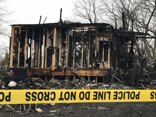 Tragic Photos Show Remains of Home After Dixon-Area Fire Leaves 6 Dead