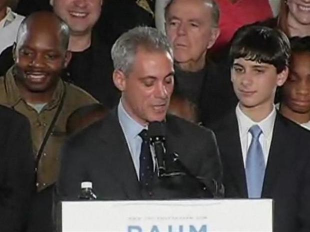 [CHI] Emanuel Tips His Hat to Daley