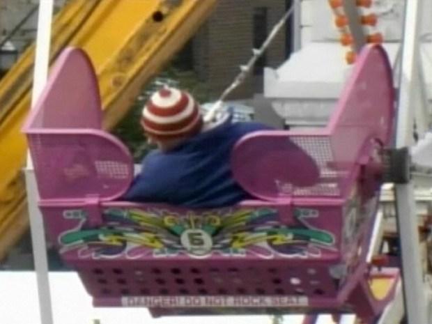 [CHI] Ferris Wheel Breaks Down; 17 Rescued