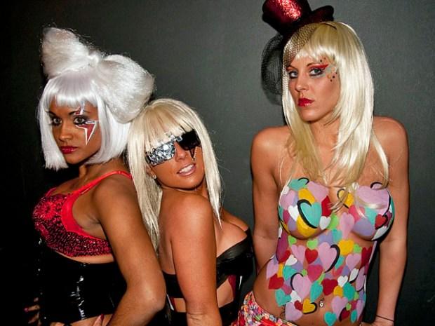 Lady Gaga Fashion Hits the Runway