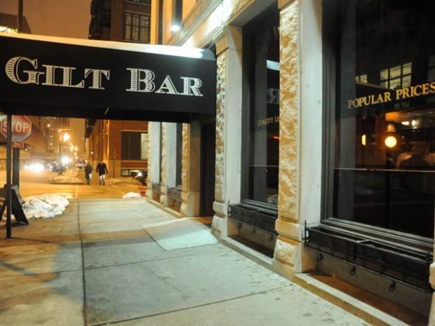 Inside the New Gilt Bar