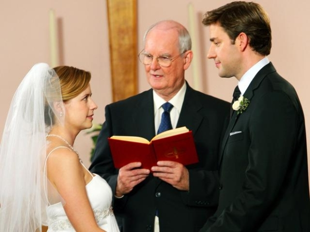 """[NBCAH] """"Office"""" Stars on Pam and Jim's Wedding"""