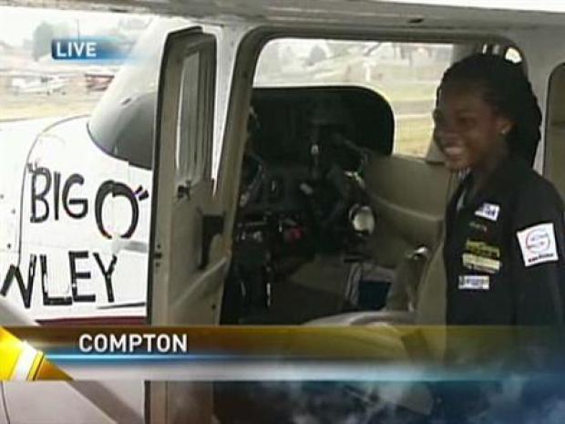 [LA] Teen Pilot Ready for Historic Flight