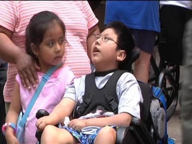 [CHI] Disability Rally at Thompson Center