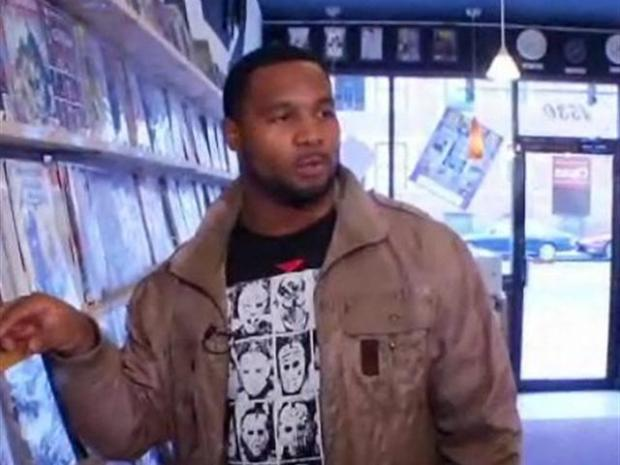 [CHI] Lance Briggs Loves Comic Books