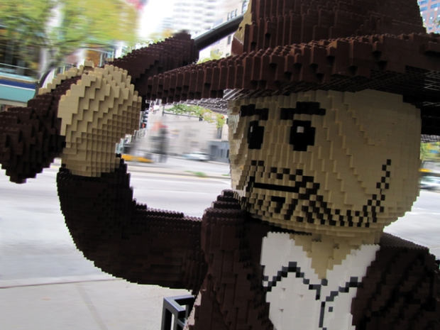 PHOTOS: Lego Sculptures on Michigan Avenue