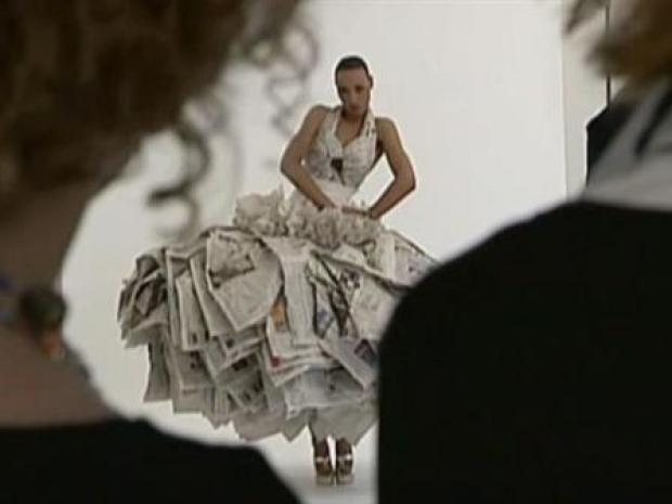 [NEWSC] Paper Wedding Dress
