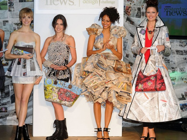 PHOTOS: Newspaper Inspired Fashion