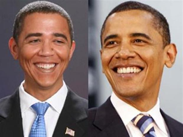[CHI] Barack Impersonator Hits Michigan Avenue