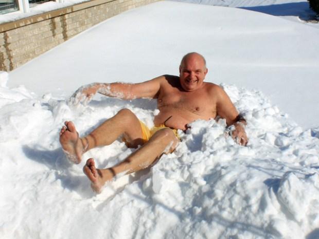 PHOTOS: Adults Having Fun in the Snow