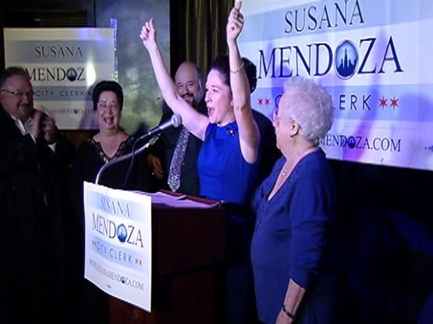 [CHI] Mendoza Elected New City Clerk