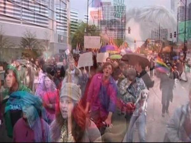 [CHI] BROLL: Prop 8 Protest in Boystown