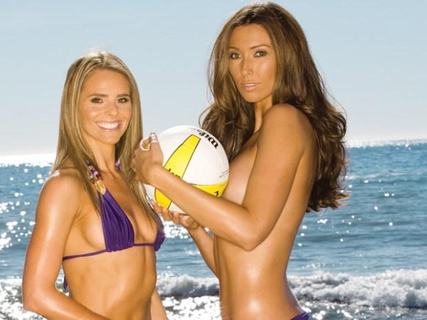Playboy's Team Gorgeous Hits Chicago's Beaches