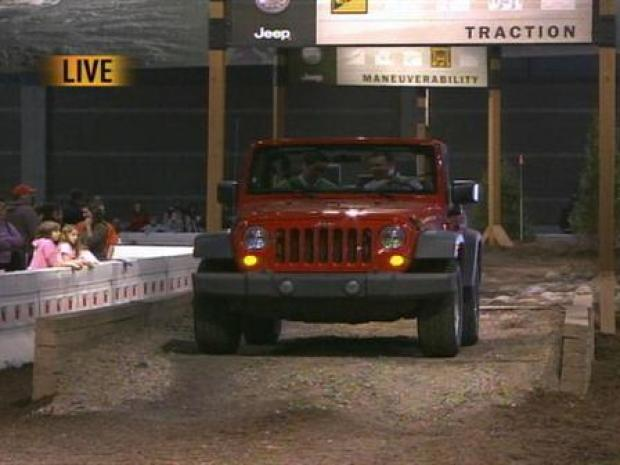 [CHI] 2008 Auto Show - Test Track with Rob Elgas