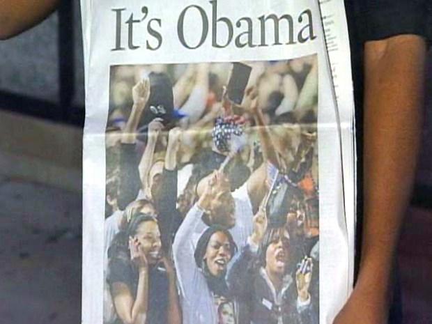 Hyde Park Celebrates Obama Win