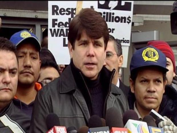 [CHI] Blagojevich Addresses Striking Workers