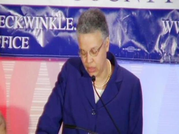 [CHI] Preckwinkle Accepts Nomination, Declares Victory