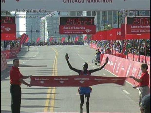 [CHI] Evans Cheruiyot Wins 2008 Chicago Marathon