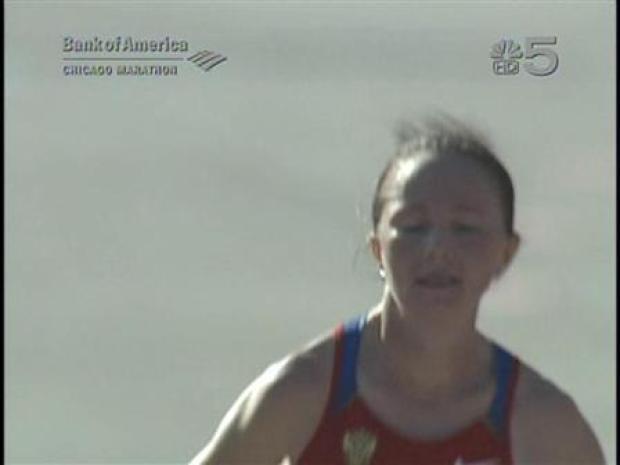 [CHI] Lydia Grigoryeva Wins Chicago Marathon Women's Division