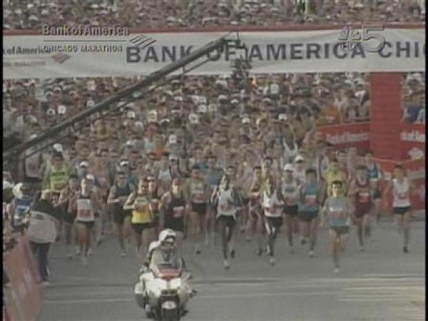 [CHI] Marathon Runners Start
