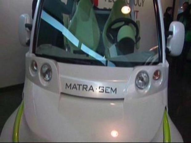 [CHI] Matra Light Electric Vehicle