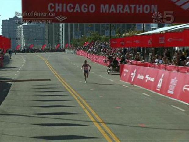 [CHI] 2008 Chicago Marathon - Women's Winner