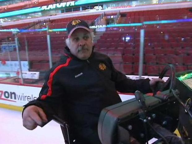 [CHI] Meet the Blackhawks' Zamboni Guy