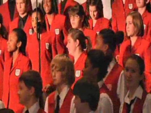 [CHI] Chicago Children's Choir Performs at Standard Club