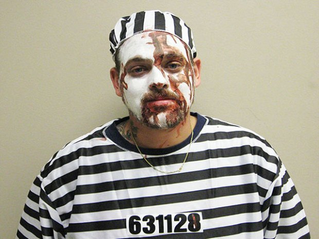 Costume the Position: Halloween Mugshots