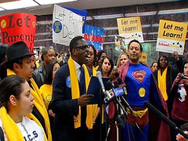 [CHI] Emotions High at Charter School Expansion Debate