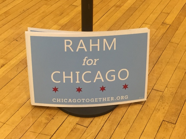 Rahm Emanuel's Election Night Watch Party