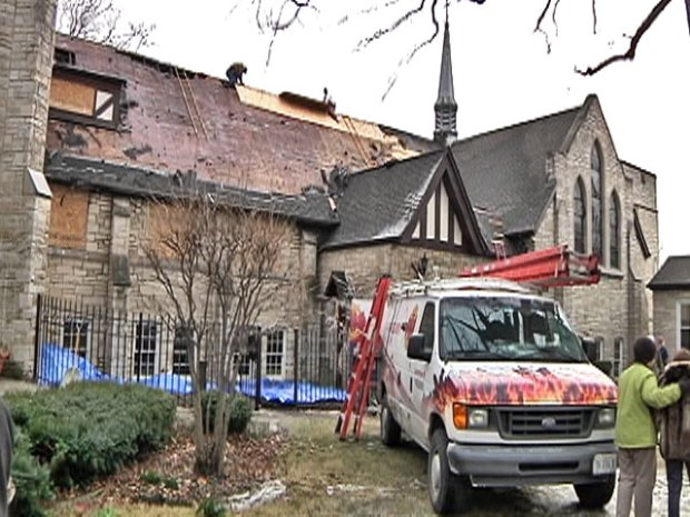 [CHI] Church Fire Stuns Parishioners