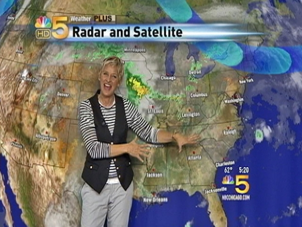 [CHI] Ellen Tackles Chicago Weather Forecasting