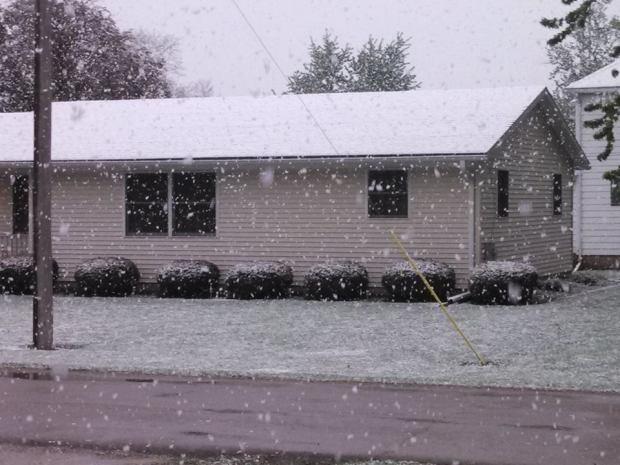 May 16 Snow