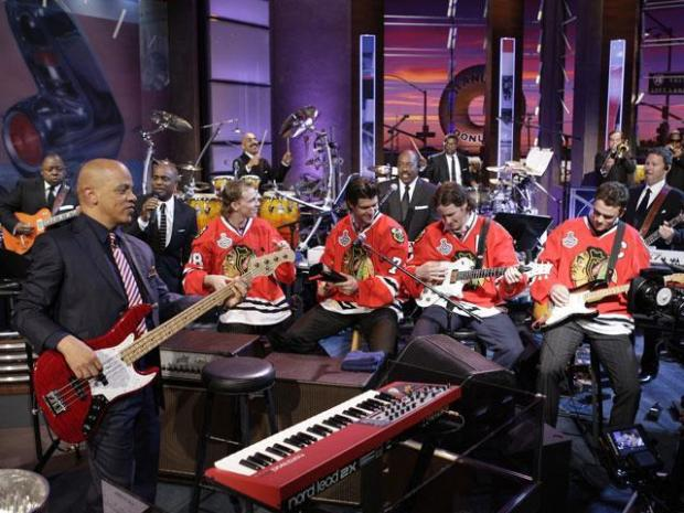 "[CHI] Blackhawks Arrive for Taping of ""The Tonight Show"""