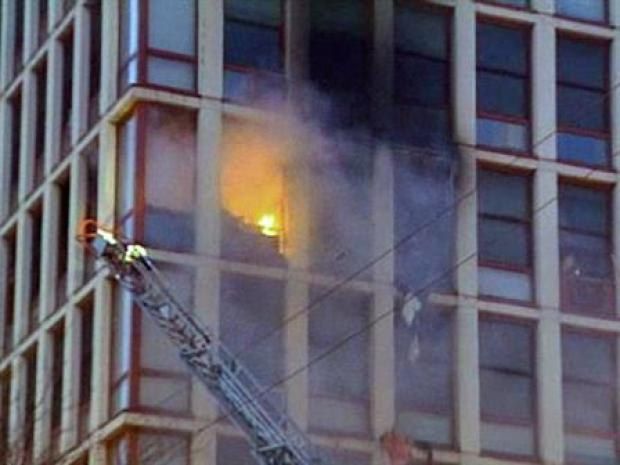 [CHI] Fire Breaks Out in 15-Story High-Rise