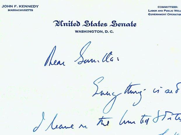 Inside JFK's Torrid Love Letters