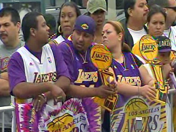 Images: Lakers Victory Parade