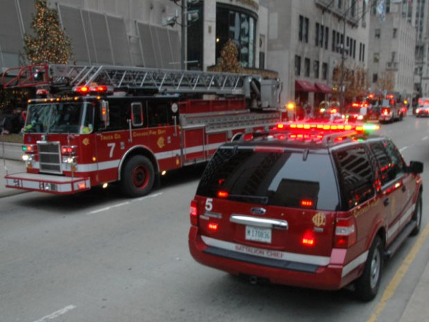 Photos: Michigan Avenue Fire